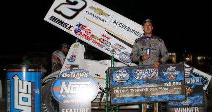 Macedo Wins $20K at Black Hills Speedway
