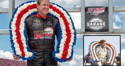 Wallace Helps Talladega Bring Back Historic Winner's Wreath