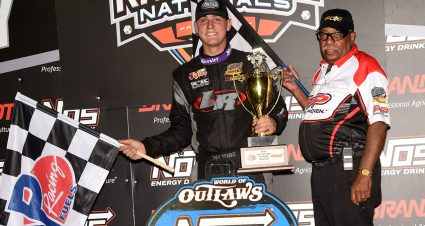 Starks Wins Night 1 at Knoxville