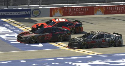 Lowe Wins Thriller at Michigan