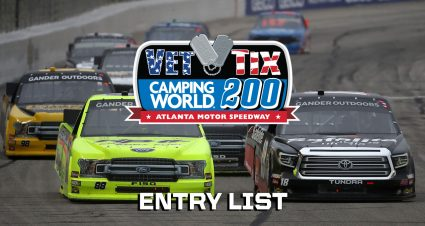 Atlanta Gander Truck Entry List