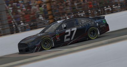 Vincent Saves Fuel to Win iRacing Series at Indy