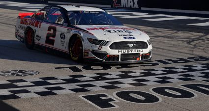 Second Win of Season for Keselowski