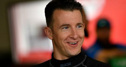Allmendinger Busy at Daytona