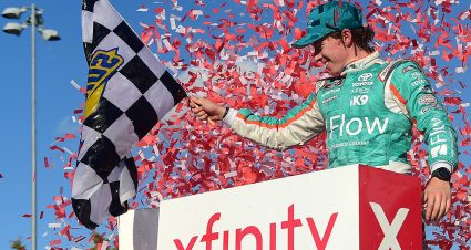 Jones Scores First Xfinity Win
