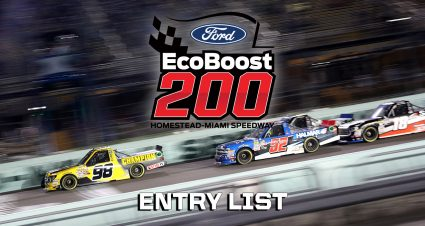 Ford EcoBoost 200 Entry List