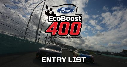 Ford EcoBoost 400 Entry List