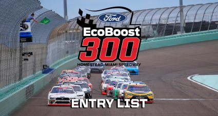 Ford EcoBoost 300 Entry List