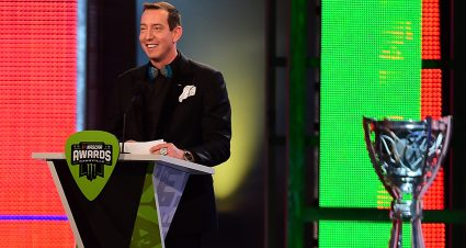 Kyle Busch Honored in Nashville