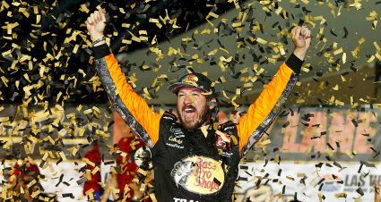 Truex Jr. Wins Playoff Opener