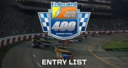 Federated Auto Parts 400 Entry List