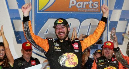 Truex Jr. Goes Back-to-Back