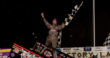 Gravel Wins Jason Johnson Classic