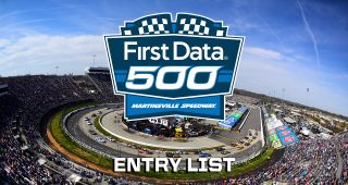 First Data 500 Entry List