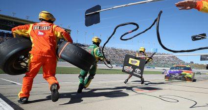 Kansas Pit Stall Assignments