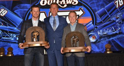 World of Outlaws Champion Brad Sweet Honored at Banquet