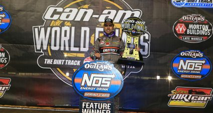 Gravel Claims 50th World of Outlaws Win