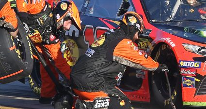 Truex Jr. Second After Tire Mix-Up