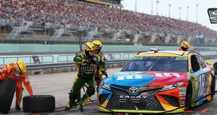 Cup Series Pit Stall Assignments