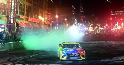 Burnouts on Broadway Photos