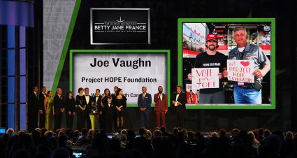 Vaughn Wins Humanitarian Award