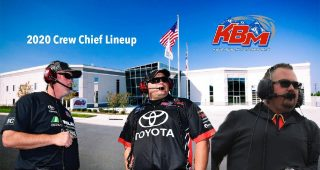 KBM Announces Crew Chief Lineup