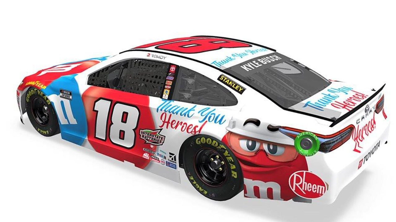 18 Kyle Busch Tank You Heroes