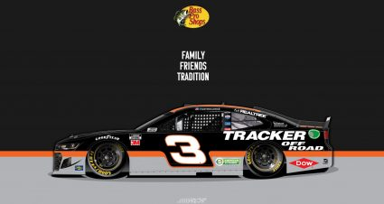 RCR Reveals Bass Pro Paint Scheme
