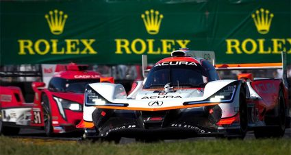 Rolex 24 Saturday Notebook