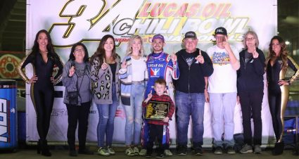 Larson Wins Night 2 at Chili Bowl