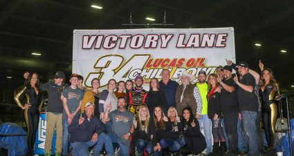 Thorson Wins Friday at Chili Bowl