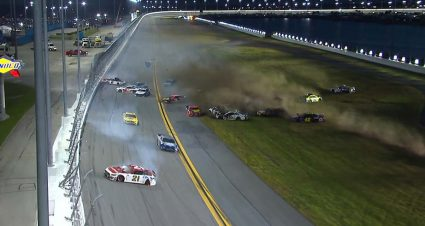 'Big One' Hits Late at Daytona