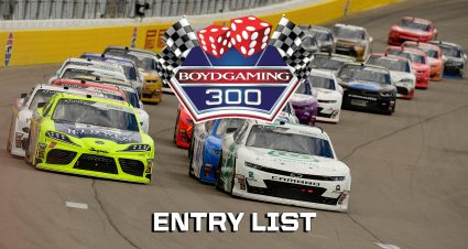 Boyd Gaming 300 Entry List