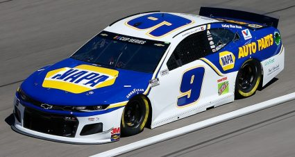 No. 9 Car Chief Ejected from LVMS