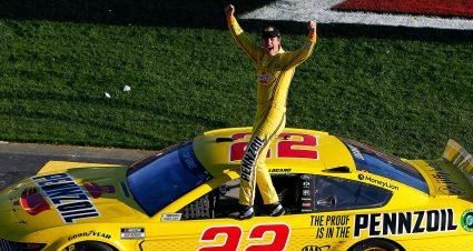 Logano Repeats at Las Vegas