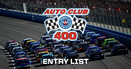Auto Club 400 Entry List