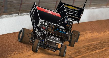 Bell Wins World of Outlaws iRace