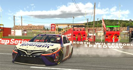 Hamlin's Win Bookends iRacing Pro