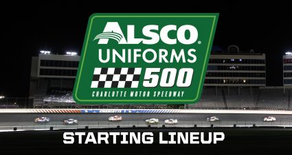 Alsco Uniforms 500 Starting Lineup