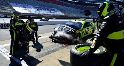 Blaney, Ty Dillon Out Early at Bristol