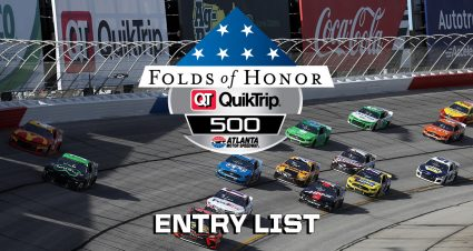 Atlanta Cup Series Entry List