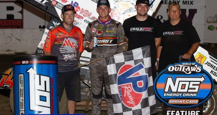 Price-Miller Scores Second Outlaws Win