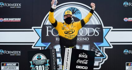 Keselowski Wins at New Hampshire