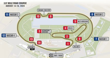 Daytona Road Course Schedule