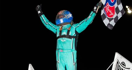 Allen Wins First Career World of Outlaws Feature