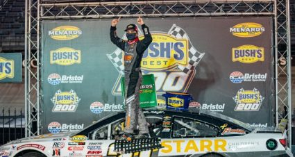 Mayer Doubles Up at Bristol