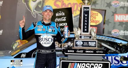 Harvick Wins Bristol Night Race