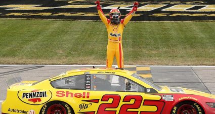 Logano Lands Ticket to Phoenix