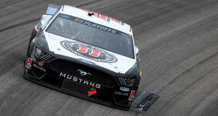 Harvick Wins Texas Pole