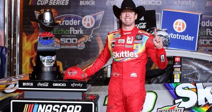 Kyle Busch Back in Victory Lane